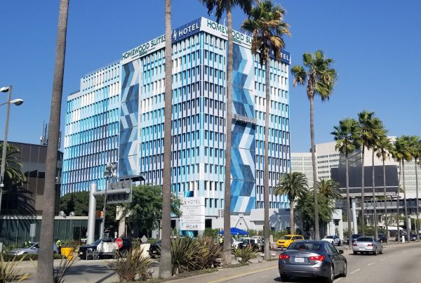 Tension Structures - H Hotel Los Angeles - Eide Industries, Inc.