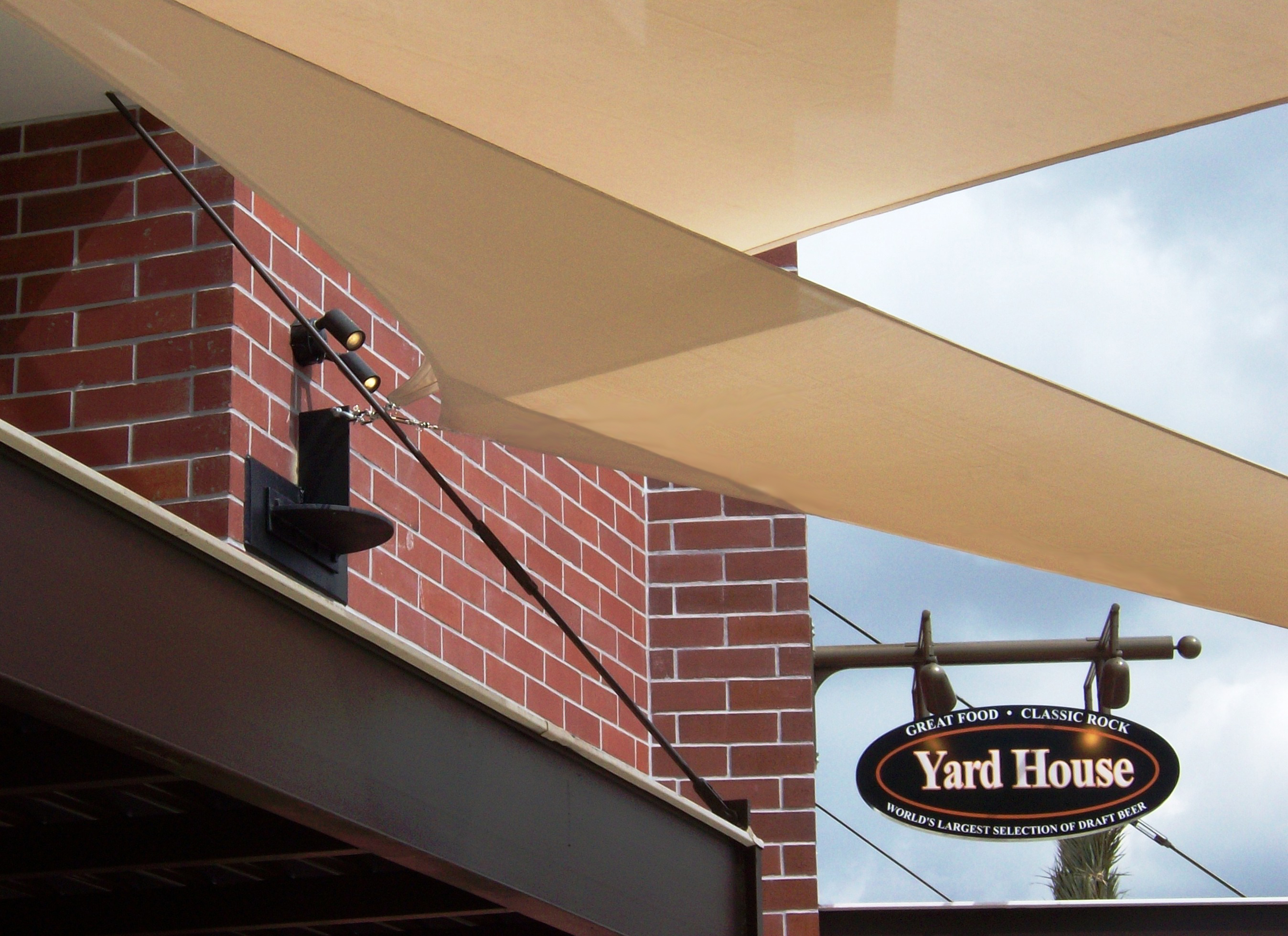 The Yard House Restaurant Temecula Ca Tension Structures