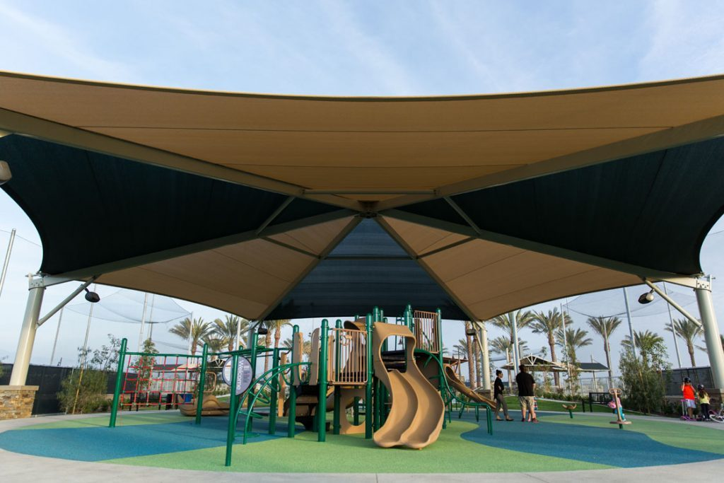 What's the Difference Between a Tensioned Fabric Structure and a Tent Structure?