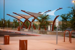 An Introduction to Tensioned Membrane Structures - transportation