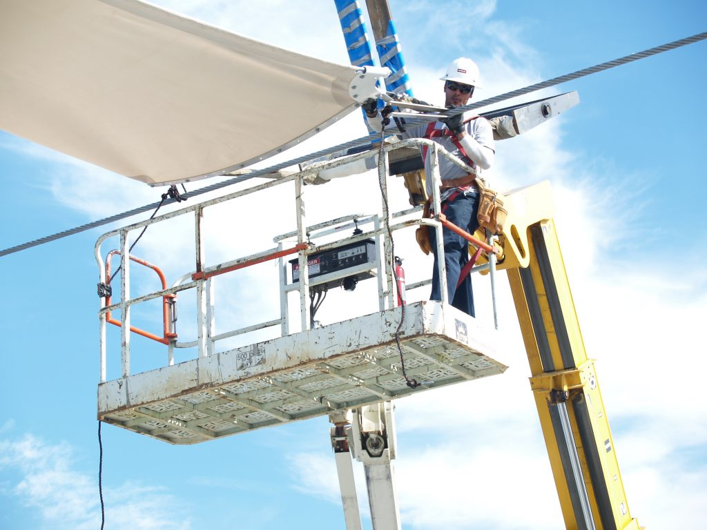 Architectural Fabric Structures Installation