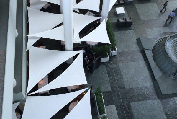 Atrium Irvine Tension Structures