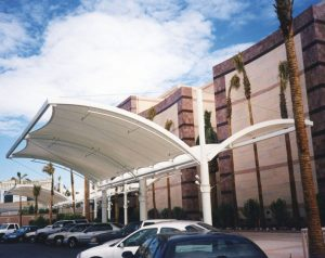 Can Tensioned Fabric Structures for Parking Garages Solve Your Challenges?