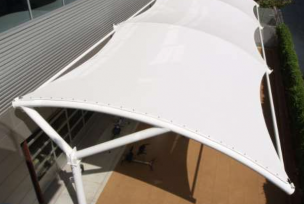 Connecting the Tensile Structure Fabric