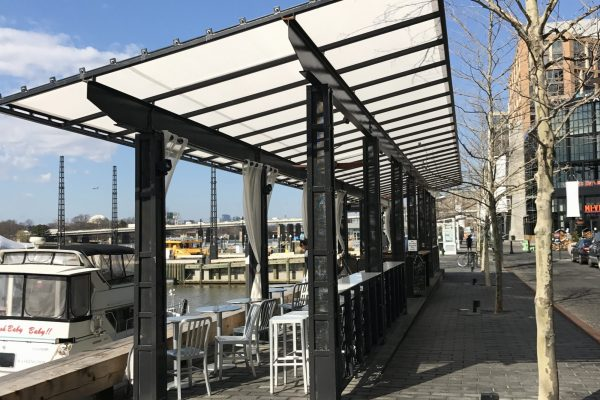 DC Wharf Lanterns   Tension Structures