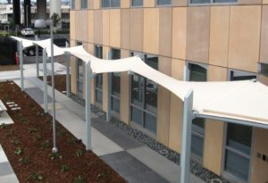 Entryways, Walkways, and Waiting Areas: Protecting Customers with Tensile Fabric Structures