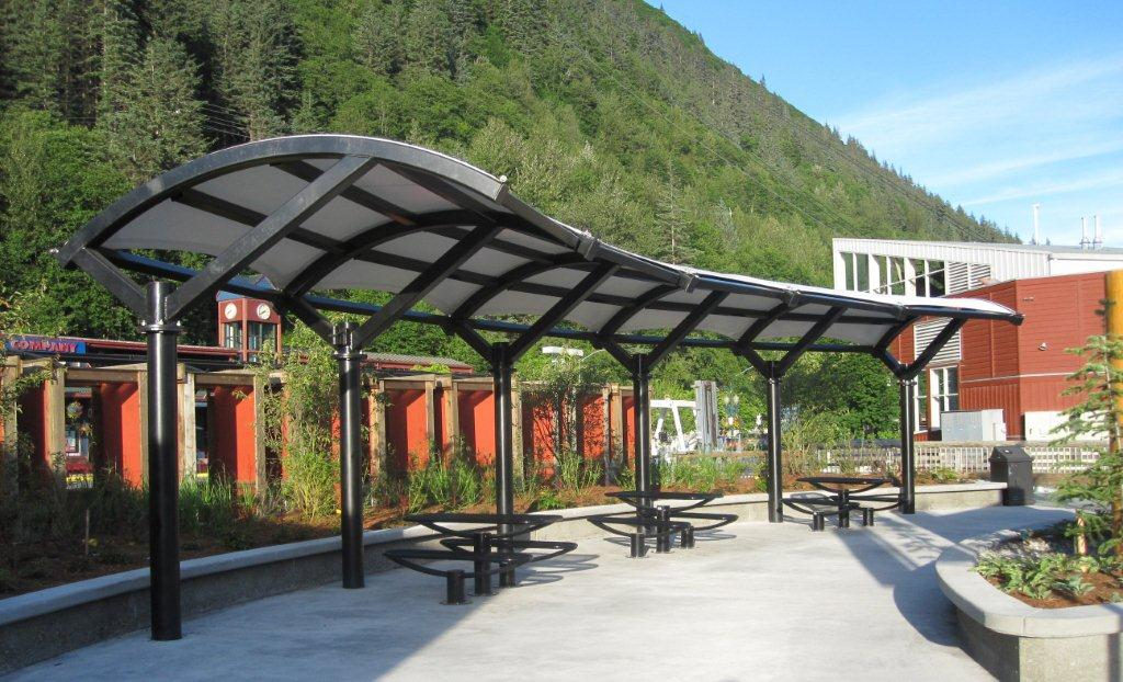 How a Tensile Roof Structure Adds to Public Park Designs