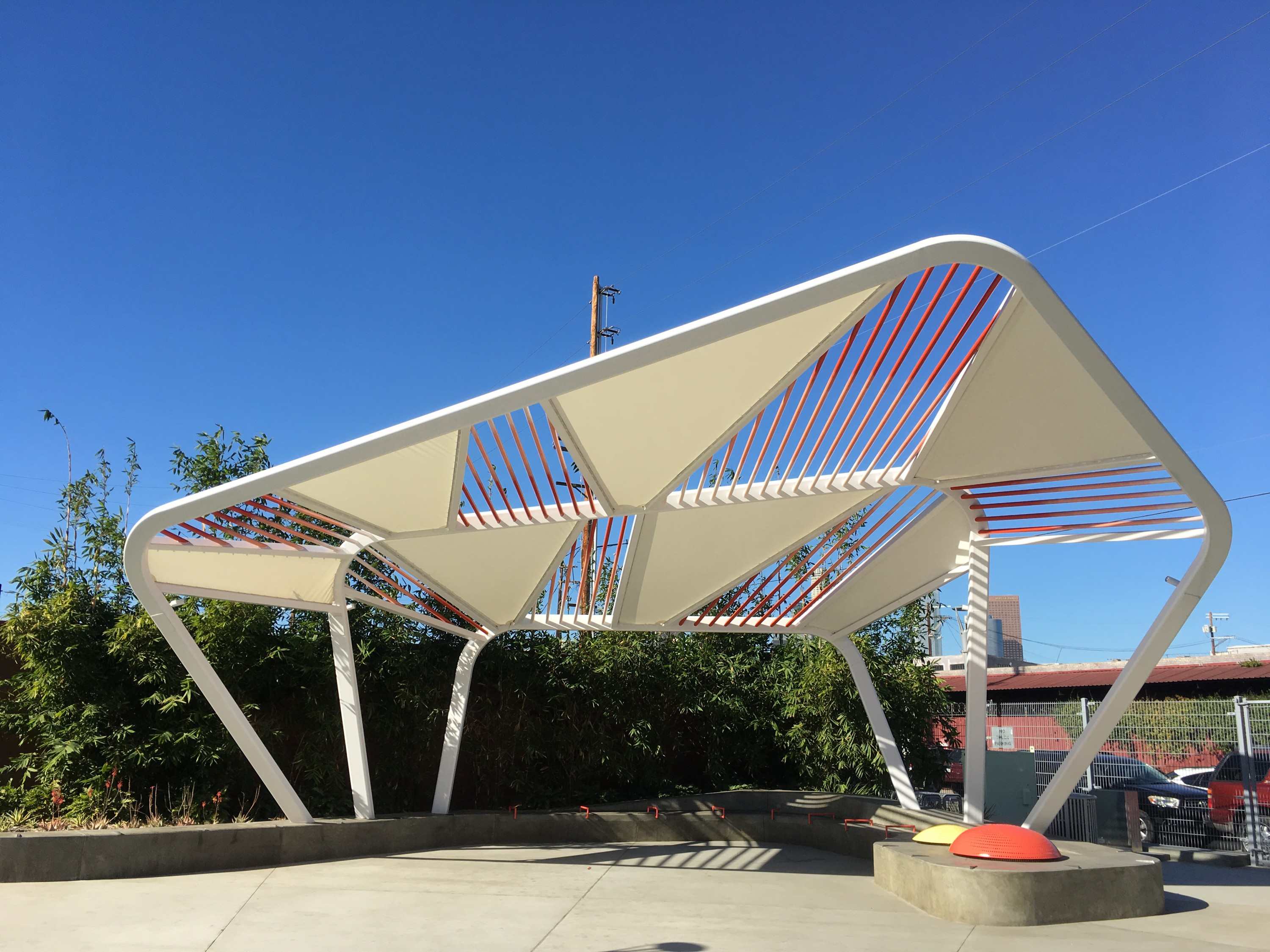 Tension Structures | Arts District Park