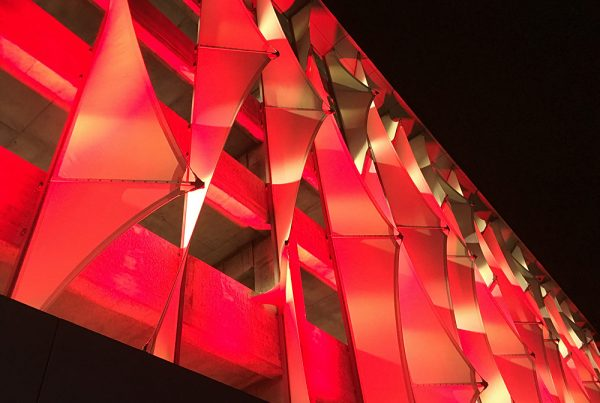Lighting and Tensioned Membrane Structures