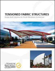 Tension Fabric Structures | Tension Structures