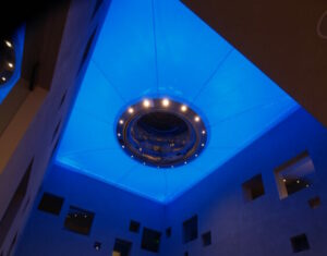 Illuminated Tension Structures