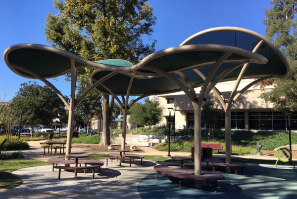 Park Shade Structures for the City of Ontario