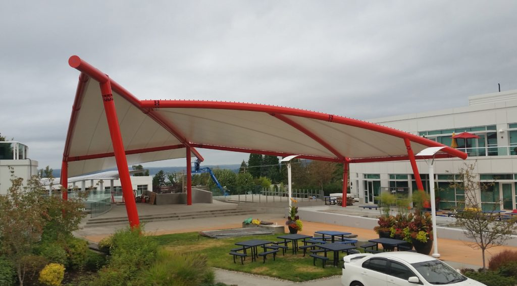 Project Highlight- Tension Membrane Structure for Google
