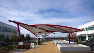 Tensile Fabric Architecture & Business Parks_Google-srm