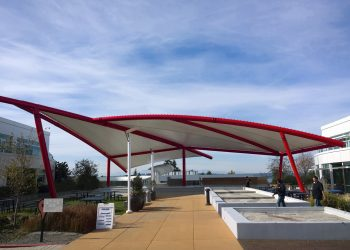 Tensile Fabric Architecture & Business Parks_Google-srm