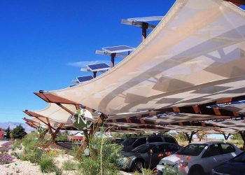 Tensile Fabric Architecture & Business Parks_Powerlight Springs Preserve