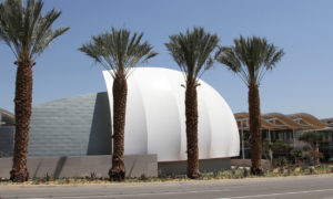 Energy Efficient Convention Center Tensile Facade