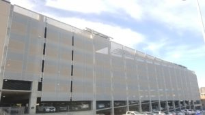Tensile Facade for Parking Garage