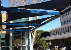 UCI Tensioned Membrane Shade Structures
