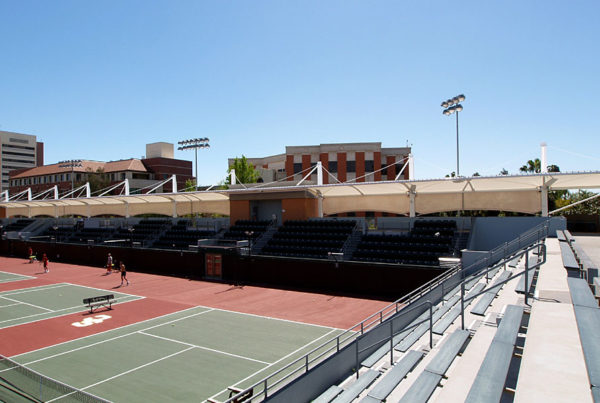 USC Tennis Stadium Shade Canopies