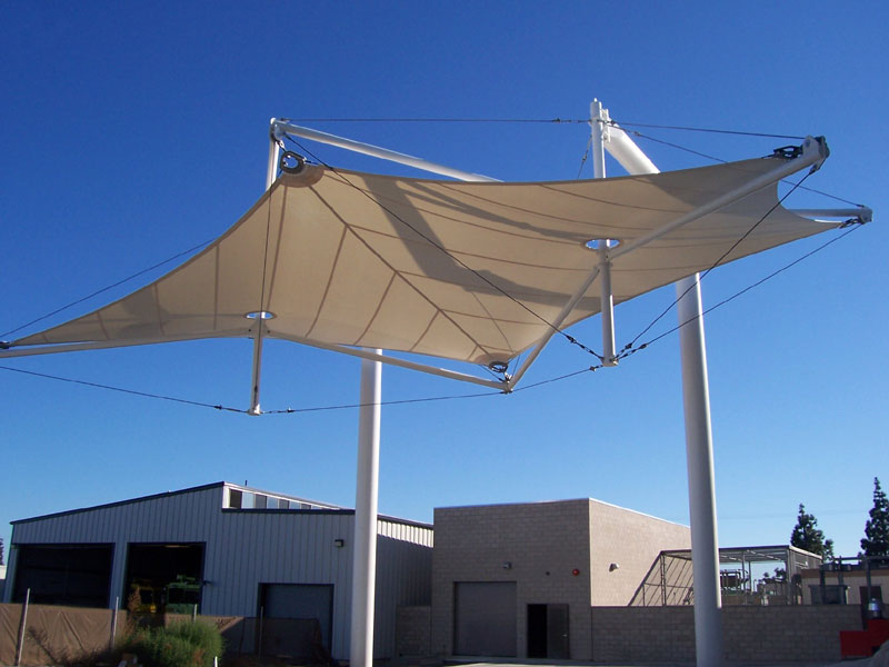 PTFE Coated Fiberglass   Tension Structures