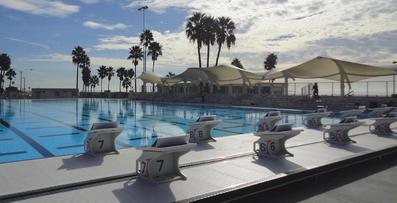 Belmont Plaza Pool Long Beach Ca Tension Structures