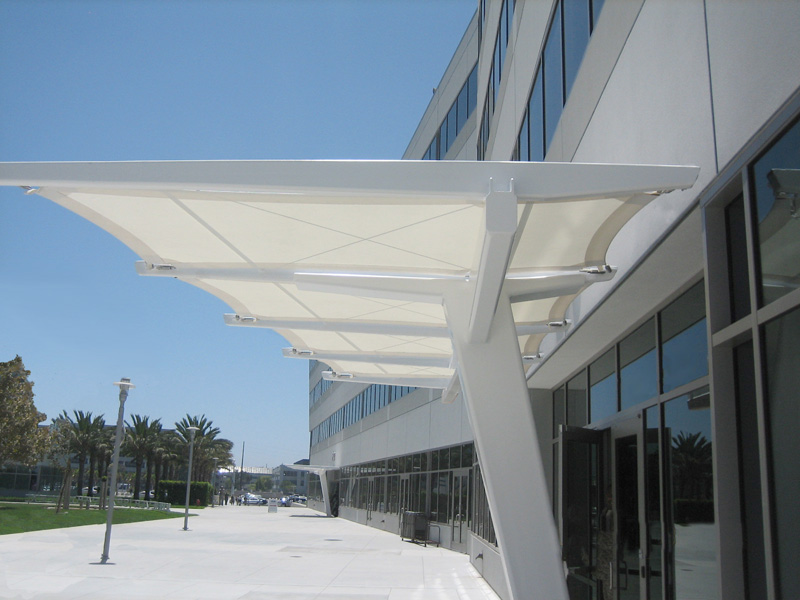 Entrance Canopy Southern California Tension Structures