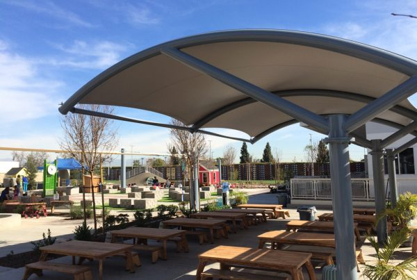tensioned membrane structures shapes