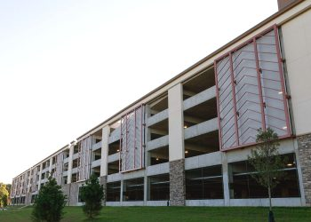 Four Winds Casino Parking Garage | TensionStructures.com