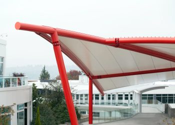 Tension Structures at Google Kirkland, WA