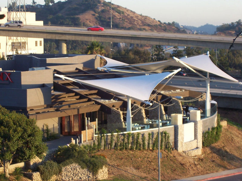 PVC Membrane Mesh Fabrics | Tension Structures