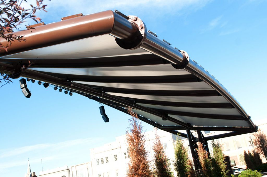 Tensile Fabric Structures Frame Finishes