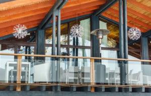 outdoor spaces in winter