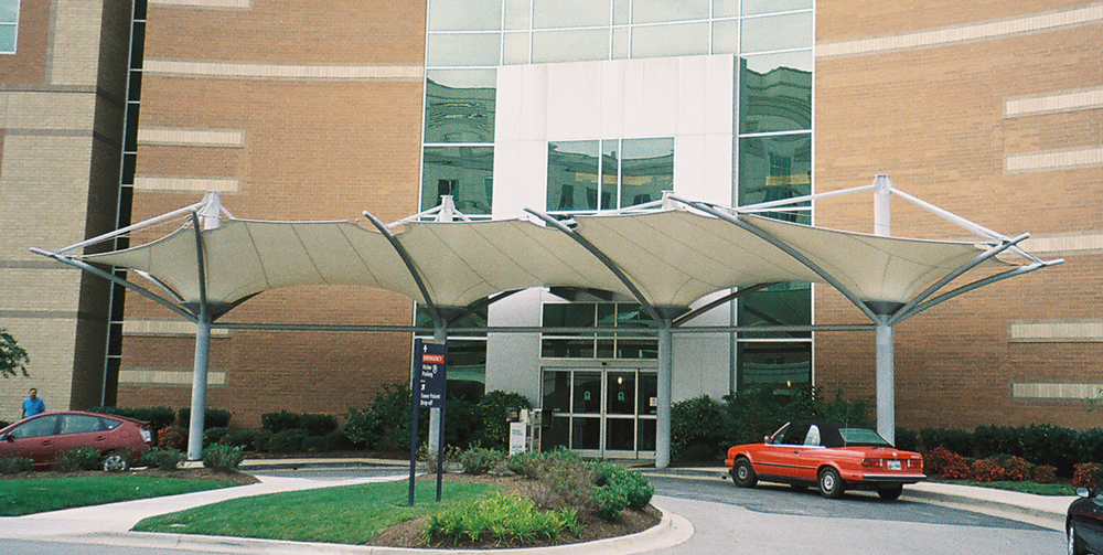 Parkwest Medical Building Knoxville Tn Tension Structures
